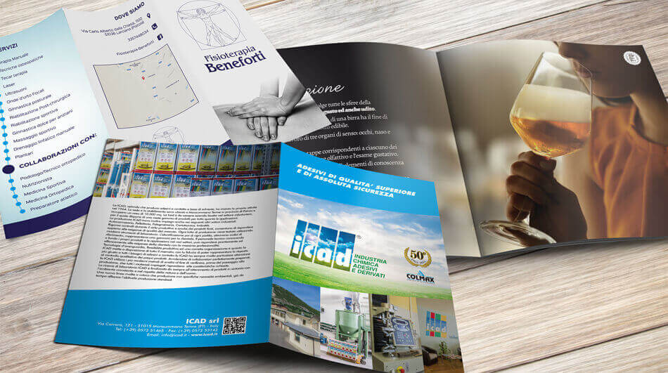 Stampa Brochure Savena